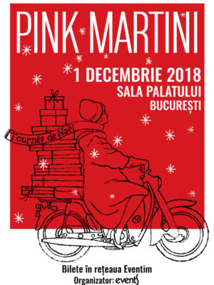 Pink Martini revine la București pe 1 decembrie 2018