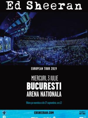 Concert Ed Sheeran, Bucuresti 2019