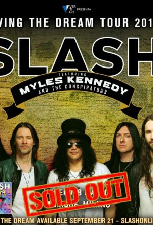 SLASH feat. Myles Kennedy And The Conspirators