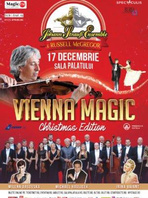 JOHANN STRAUSS ENSEMBLE readuce strălucirea muzicii clasice vieneze într-un nou concert, la Sala Palatului VIENNA MAGIC CHRISTMAS EDITION