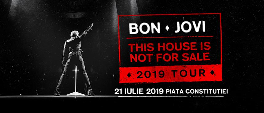 Concert Bon Jovi pe 21 iulie 2019 în Piaţa Constituţiei din Bucureşti