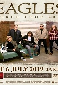 Eagles @ 3Arena, Dublin | 6 JULY – 8 JULY 2019