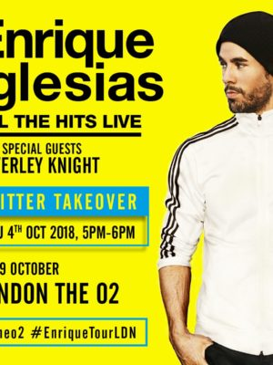 Enrique Iglesias @ The O2 arena | 19 Oct 2018