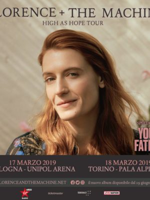 Concert Florence + The Machine @ Italy 2019