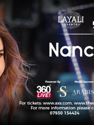 Nancy Ajram | 21 Oct 2018 @ indigo at The O2