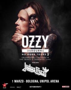 Ozzy Osbourne @ Unipol Arena, CASALECCHIO DI RENO, Bologna