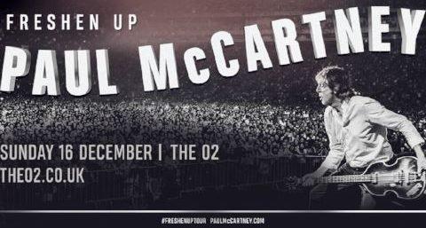 Paul McCartney @ The O2 arena | 16 Dec 2018
