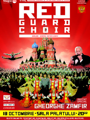 THE RED GUARD CHOIR (Red Army Choir MVD) REVINE PE SCENELE DIN ROMÂNIA CU UN NOU SPECTACOL