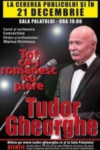 """""""TOT CE-I ROMANESC NU PIERE"""" se reia si in data de 21 decembrie 2018 - la Sala Palatului."""