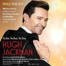 Hugh Jackman Announces World Arena Tour