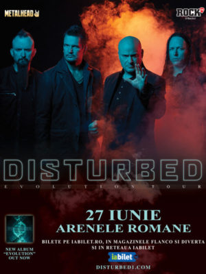 Concert Disturbed @ Bucuresti 2019