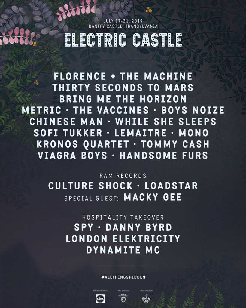 Florence + the Machine ,30 Seconds to Mars ,Bring Me the Horizon @ Electric Castle 2019