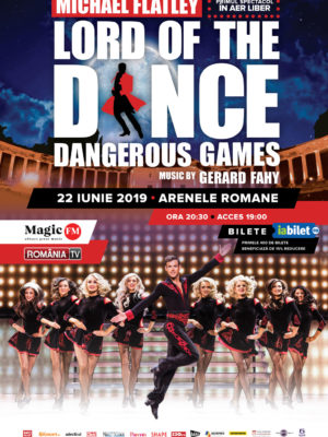 LordOfTheDance – Dangerous Games @ Bucuresti 2019