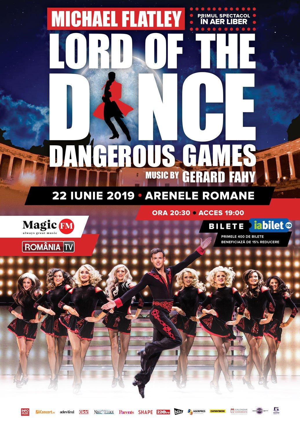 LordOfTheDance – Dangerous Games @ Bucuresti 2019