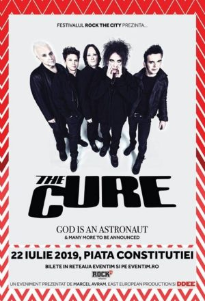 The Cure @ ROCK THE CITY, Bucharest 2019