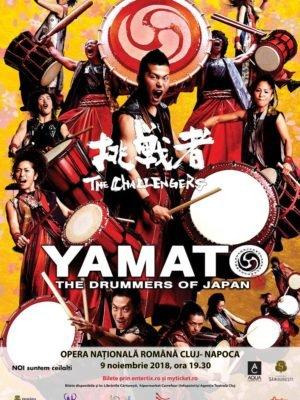 YAMATO – The Drummers of Japan în concert la Opera Națională Română Cluj-Napoca
