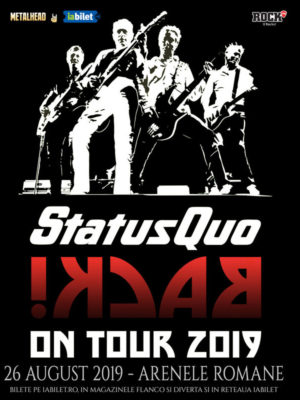 Status Quo la Bucuresti pe 26 august
