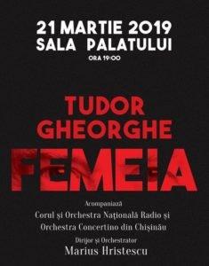 "Tudor Gheorghe - PREMIERA -""FEMEIA"" 2019"