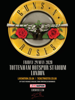 "Guns N'Roses ""Not in This Lifetime"" European Tour 2020"